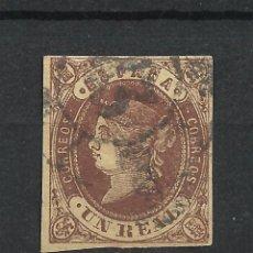 Sellos: ESPAÑA 1862 EDIFIL 61 USADO - 19/10. Lote 204435640