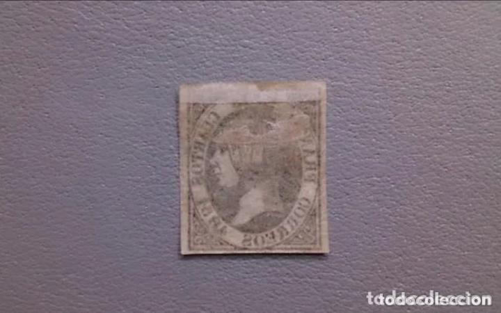 Sellos: ESPAÑA-1851- ISABEL II- EDIFIL 6 - MH* - NUEVO - AUTENTICO - CALCADO AL DORSO - VALOR CATALOGO 375€. - Foto 2 - 216449545
