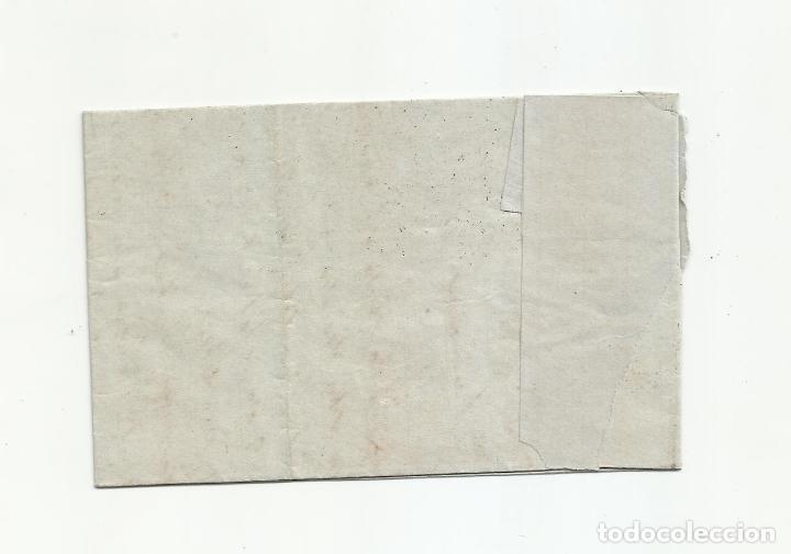 Sellos: circulada Y ESCRITA 1864 DE VERA ALMERIA A BARCELONA - Foto 3 - 217445387