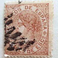 Francobolli: SELLOS ESPAÑA 1867. ISABEL II. EDIFIL 96. USADO.. Lote 218191336