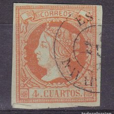 Francobolli: LL20- CLÁSICOS EDIFIL 52 . FECHADOR ESTELLA (NAVARRA). Lote 218840500