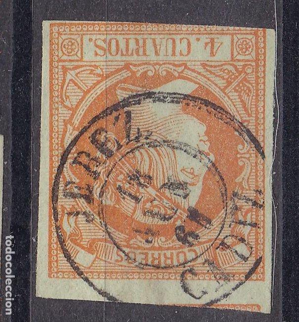 LL25- CLÁSICOS EDIFIL 52 MATASELLOS JEREZ (CÁDIZ) (Sellos - España - Isabel II de 1.850 a 1.869 - Usados)
