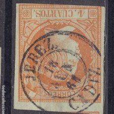 Sellos: LL25- CLÁSICOS EDIFIL 52 MATASELLOS JEREZ (CÁDIZ). Lote 219029545
