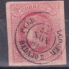 Sellos: LL25- CLÁSICOS EDIFIL 64 MATASELLOS FECHADOR PUEBLA DE ALCOCER (BADAJOZ). Lote 219030878
