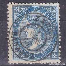 Sellos: LL25- CLÁSICOS EDIFIL 88 MATASELLOS FECHADOR ZAFRA (BADAJOZ). Lote 219030903
