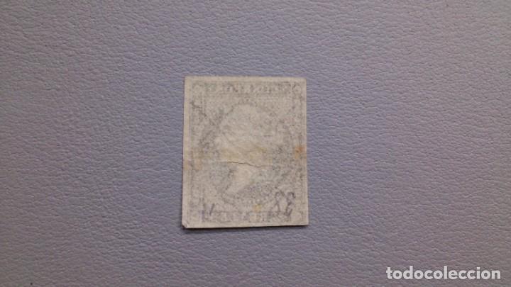 Sellos: ESPAÑA - 1855 - ISABEL II - EDIFIL 46 - MNG - NUEVO - LINEAS CRUZADAS - VALOR CATALOGO 660€. - Foto 2 - 219433872