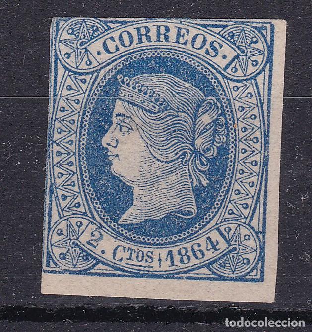 JJ7 - CLÁSICOS EDIFIL 68 NUEVO (*) (Sellos - España - Isabel II de 1.850 a 1.869 - Nuevos)