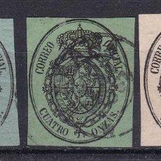 Selos: JJ7 - CLÁSICOS CORREO OFICIAL USADOS COLONIAS MUY RAROS. Lote 221979650
