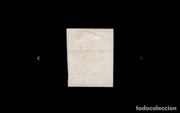 Sellos: ESPAÑA - 1854 - ISABEL II - EDIFIL 33 - MH* - NUEVO - VARIEDAD MUESTRA - VALOR CATALOGO 165€. - Foto 2 - 222565237