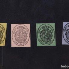 Selos: SELLOS ESPAÑA 1855 - ESCUDO DE ESPAÑA. CORREO OFICIAL - EDIFIL 35/38, NUEVO. Lote 222735671