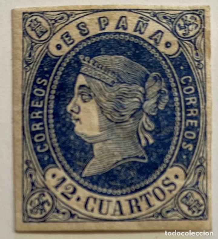 ESPAÑA, SELLO Nº 59 (Sellos - España - Isabel II de 1.850 a 1.869 - Nuevos)