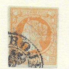 Timbres: EDIFIL Nº 52. BURGOS CASTROJERIZ. MARCA PRE-FILATELICA. Lote 223067980