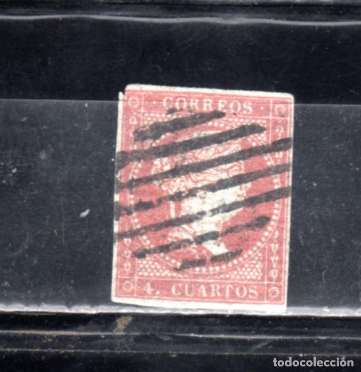 ED Nº 40 ISABEL I USADO (Sellos - España - Isabel II de 1.850 a 1.869 - Usados)