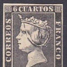 Sellos: EDIFIL ESPAÑA Nº 1* ( REPRODUCION -FALSO FILATELICO ). Lote 270206058