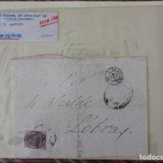Selos: FRONTAL CARTA GRANADA A LOBRAS (GRANADA) EDIFIL Nº 36. Lote 229207550
