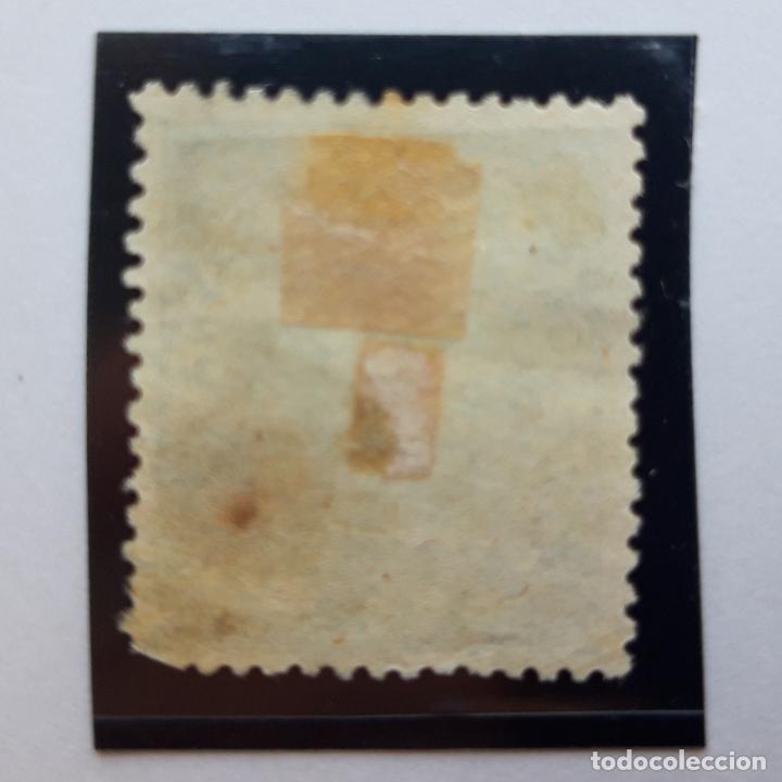 Sellos: Edifil 97, 25 mil, Isabel II, usado, 1868 - Foto 2 - 232091115