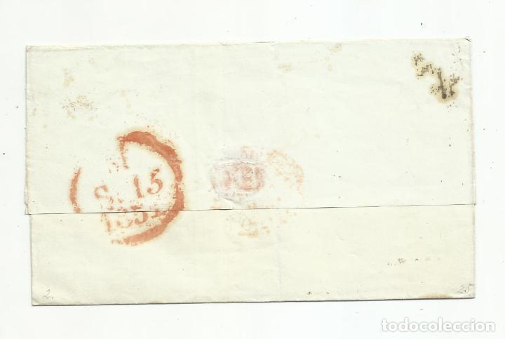 Sellos: envuelta circulada 1851 de murcia a madrid - Foto 2 - 235090845