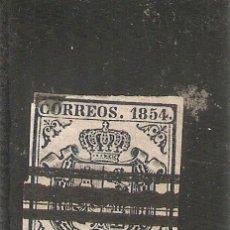 Sellos: SELLO Nº43 1854 1R. AZUL OSCURO. Lote 236306035