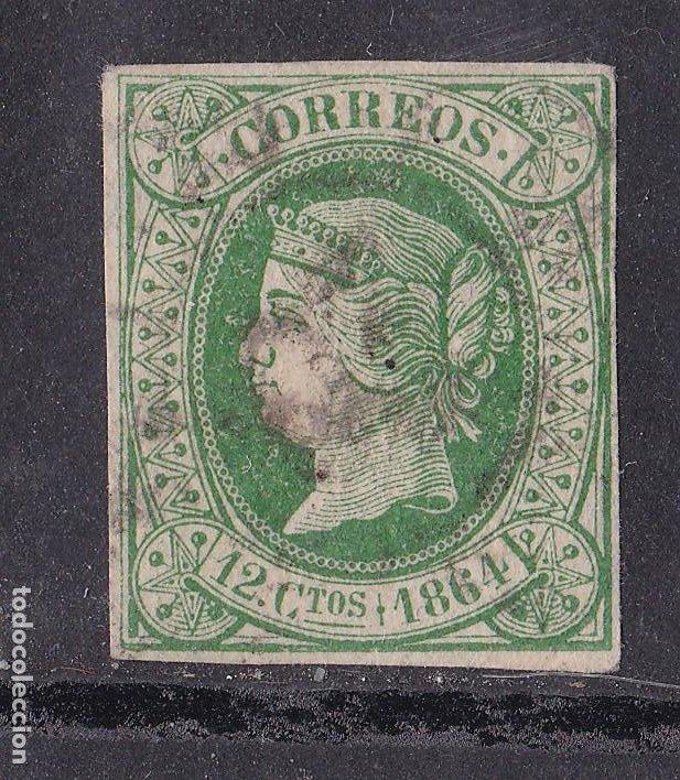 JJ31- CLÁSICOS EDIFIL 65. USADO (Sellos - España - Isabel II de 1.850 a 1.869 - Usados)