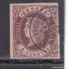 Selos: JJ31- CLÁSICOS EDIFIL 58A. USADO TORREDEMBARRA TARRAGONA. Lote 236910380