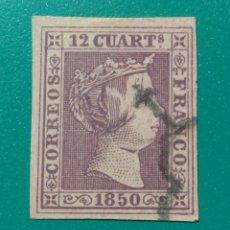 Sellos: ESPAÑA. 1850. EDIFIL 2. ( FALSO FILATÉLICO ). Lote 241328630