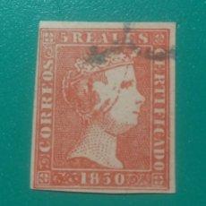 Sellos: ESPAÑA. 1850. EDIFIL 3. ( FALSO FILATÉLICO ).. Lote 241466795