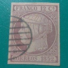 Sellos: ESPAÑA. 1852. EDIFIL 13. ( FALSO FILATÉLICO ).. Lote 241488585