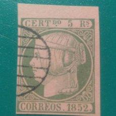 Sellos: ESPAÑA. 1852. EDIFIL 15. ( FALSO FILATÉLICO ).. Lote 241521950