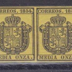 Timbres: SS12-CLÁSICOS CORREO OFICIAL EDIFIL 28. TIRA DE 4 ** SIN FIJASELLOS. LUJO. Lote 243159630