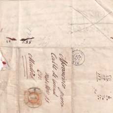 Sellos: CARTA FECHADA EN 1860 MADRID. Lote 243535315