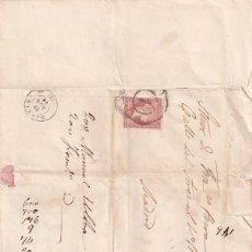 Sellos: CARTA FECHADA EN 1859 MADRID. Lote 243535935