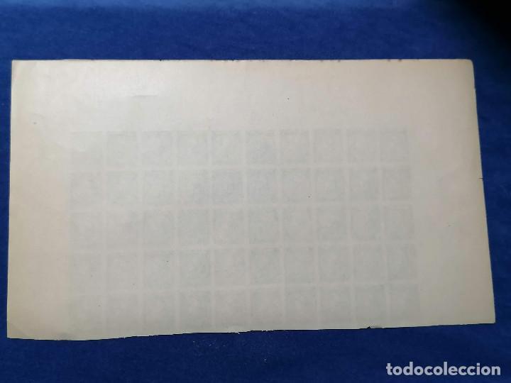 Sellos: España Falso Filatelico lote sellos 50 sellos pliego hoja nuevo Edifil 84 impreso años 1920 aprox - Foto 7 - 243926490