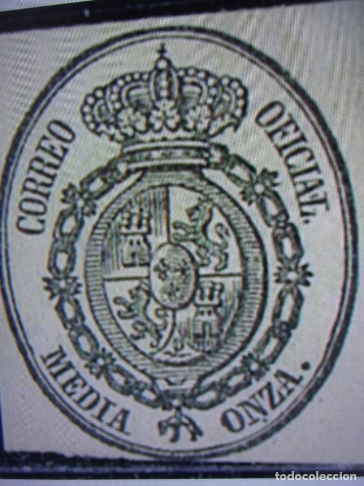 AÑO 1855. SELLO ESPAÑA. EDIFIL 35 *. NUEVO (Sellos - España - Isabel II de 1.850 a 1.869 - Nuevos)