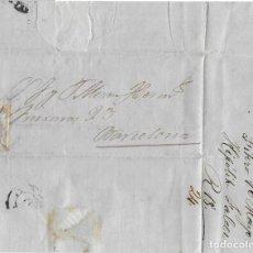 Sellos: 1872 (16 MAY) CARTA COMPLETA FITERO, NAVARRA ANULADO A PLUMA. EMISIÓN MATRONA 1872. Lote 244529395