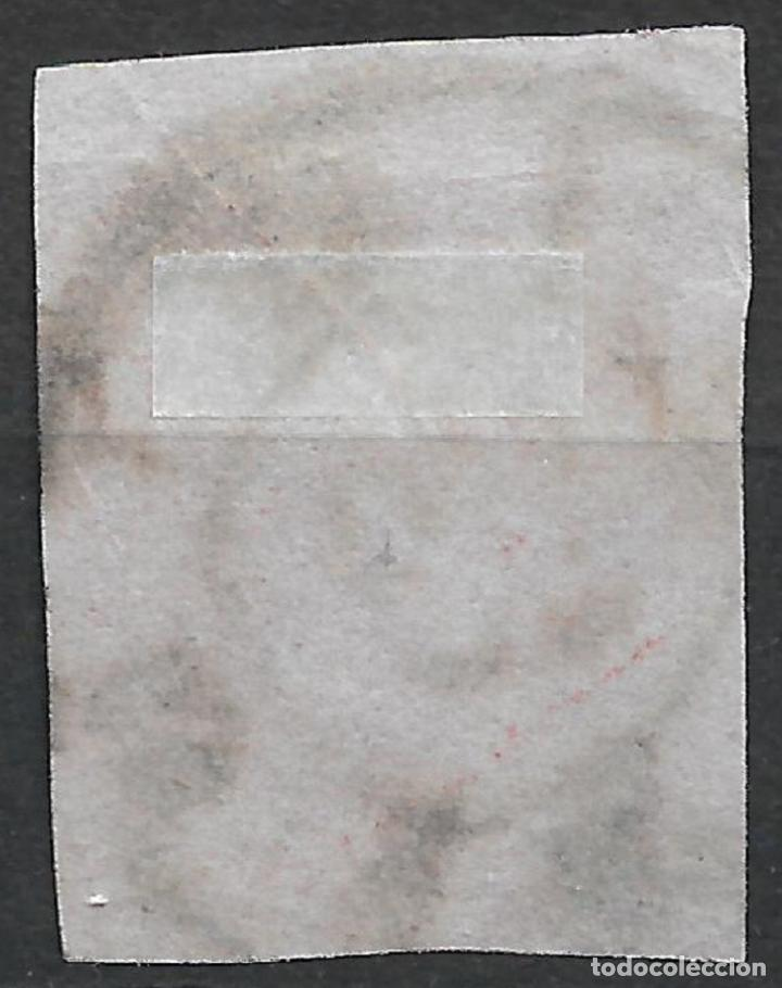 Sellos: ESPAÑA 1862 EDIFIL 60 USADO CARRETA 63 SAN ROQUE 345 € - 18/27 - Foto 2 - 244632790