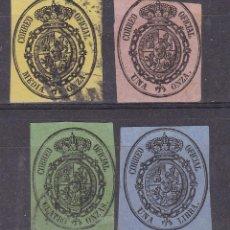 Sellos: SS9- CLÁSICOS CORREO OFICIAL EDIFIL 35 /38. Lote 244745660