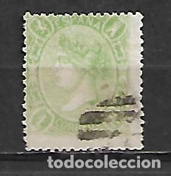 ESPAÑA 1865 Nº 78 ISABEL II PRECIOSO SELLO DE 1 REAL CIRCULADO PERFECTO (Sellos - España - Isabel II de 1.850 a 1.869 - Usados)