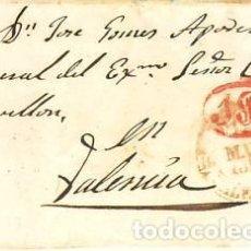 Sellos: FRONTAL SUECA A VALENCIA CON BAEZA Y MULTA. Lote 246140385