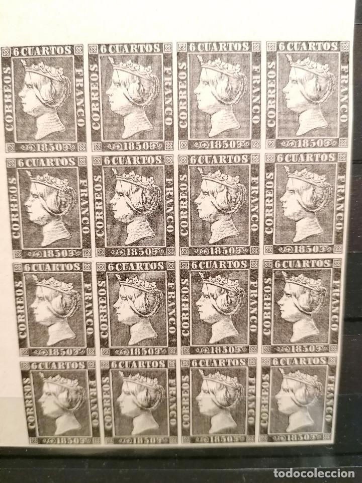 Sellos: España Falso Filatelico lote sellos 16 sellos pliego Angulo hoja nuevo Edifil 1 - años 1920 aprox - Foto 2 - 246141185