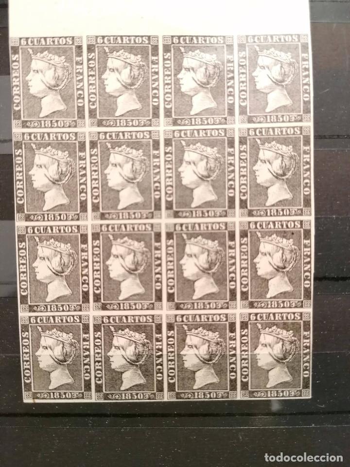 Sellos: España Falso Filatelico lote sellos 16 sellos pliego hoja nuevo Edifil 1 - años 1920 aprox - Foto 3 - 246143885