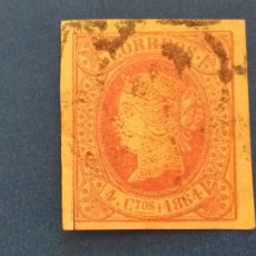 Timbres: USADO. AÑO 1864. EDIFIL 64. ISABEL II.. Lote 251105065