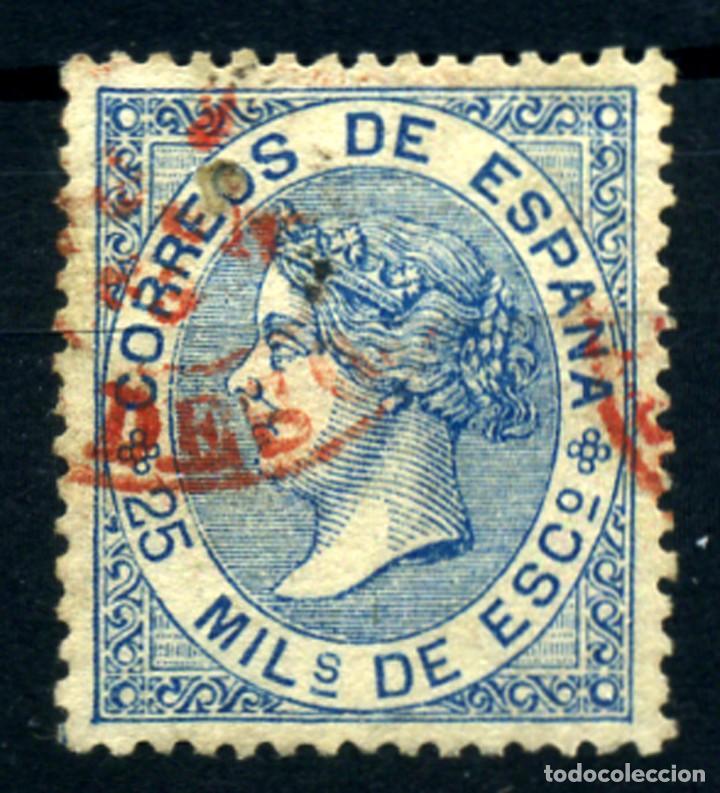 ESPAÑA Nº 97. AÑO 1868 (Sellos - España - Isabel II de 1.850 a 1.869 - Usados)