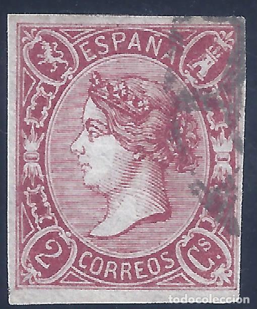 EDIFIL 69 ISABEL II. AÑO 1865. EXCELENTE EJEMPLAR. COLOR INTENSO. VALOR CATÁLOGO: 47 €. LUJO. (Sellos - España - Isabel II de 1.850 a 1.869 - Usados)