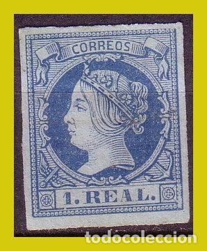 1860 ISABEL II, EDIFIL Nº 55 (*) (Sellos - España - Isabel II de 1.850 a 1.869 - Nuevos)