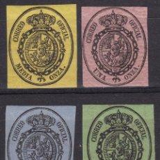 Selos: AA18 - CLÁSICOS CORREO OFICIAL EDIFIL 35 /38 NUEVOS(*). Lote 258053240