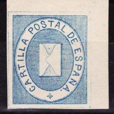 Sellos: B93A FRANQUICIAS POSTALES Nº 1A ** AZUL CLARO PLENA GOMA ORIGINAL Y SIN SEÑAL DE FIJAELLOS ESQUINA. Lote 259930160