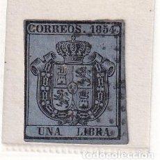 Sellos: SELLOS ESPAÑA: AÑO 1854 EDIFIL Nº 31 EN NUEVO VALOR CATALOGO 98 €. Lote 260021250