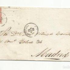 Sellos: ENVUELTA CIRCULADA 1859 DE LA CAROLINA JAEN A MADRID. Lote 260672720
