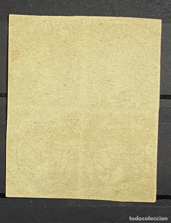 Sellos: ESPAÑA. EDIFIL Nº 6. 1851. BLOQUE DE 4. NUEVO. SIN GOMA. - Foto 2 - 261335860