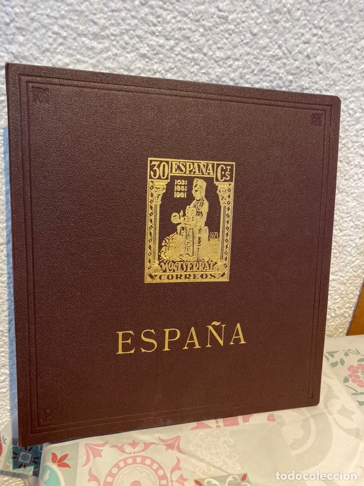 ÁLBUM DE SELLOS ESPAÑA ANTIGUO (Sellos - España - Isabel II de 1.850 a 1.869 - Nuevos)